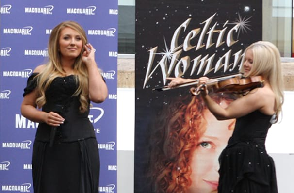Celtic Woman, Mohegan Sun Arena, Hartford