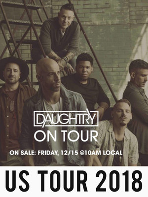 Daughtry at Bergen Performing Arts Center