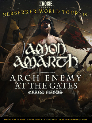 Amon Amarth at Edmonton Convention Centre