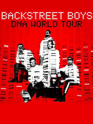 Backstreet Boys, North Island Credit Union Amphitheatre, San Diego