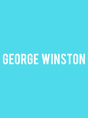George Winston, The Lyric Theatre Birmingham, Birmingham