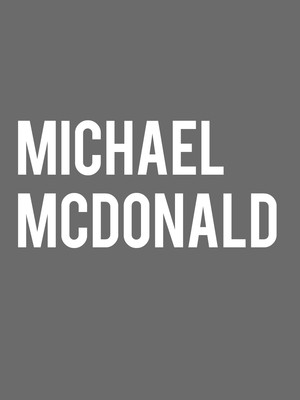 Michael McDonald at Mountain Winery