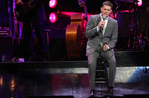 Michael Buble, Dickies Arena, Fort Worth