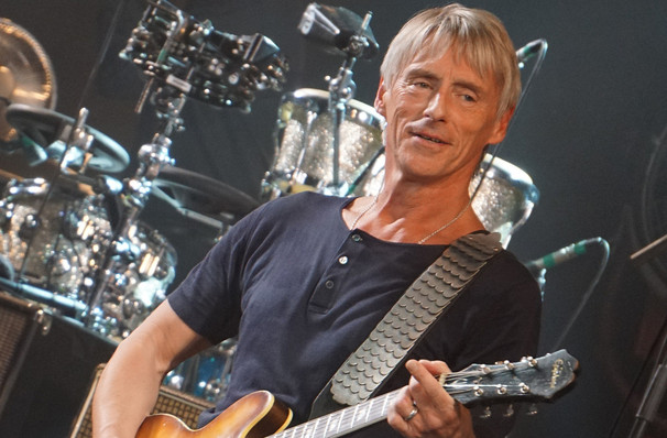 Paul Weller, Pantages Theater, Minneapolis
