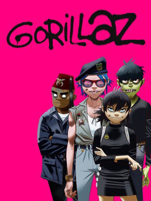 Gorillaz at Centre Bell