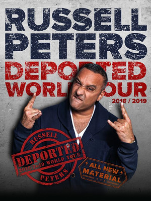 Russell Peters, Webster Bank Arena, New Haven