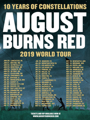 August Burns Red at Flames Central