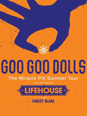 The Goo Goo Dolls, Darien Lake Performing Arts Center, Buffalo
