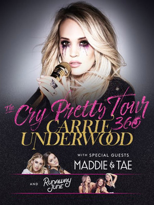 Carrie Underwood at PPG Paints Arena
