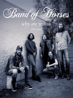 Band Of Horses at Knitting Factory Spokane