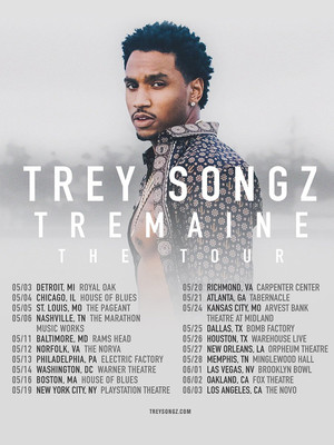 Trey Songz at Arvest Bank Theatre at The Midland