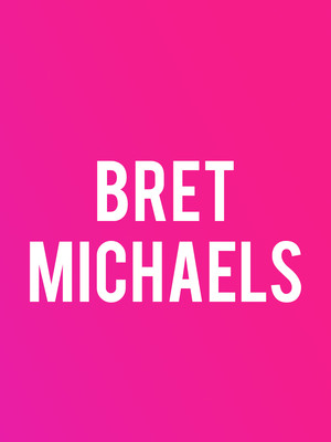 Bret Michaels at Tyson Event Center