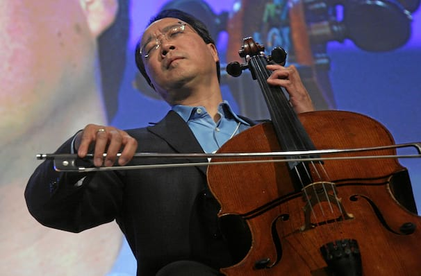 Yo Yo Ma, Mccallum Theatre, Palm Desert