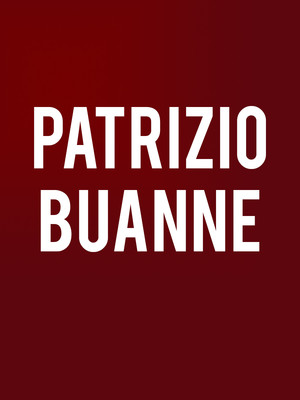 Patrizio Buanne at City Winery