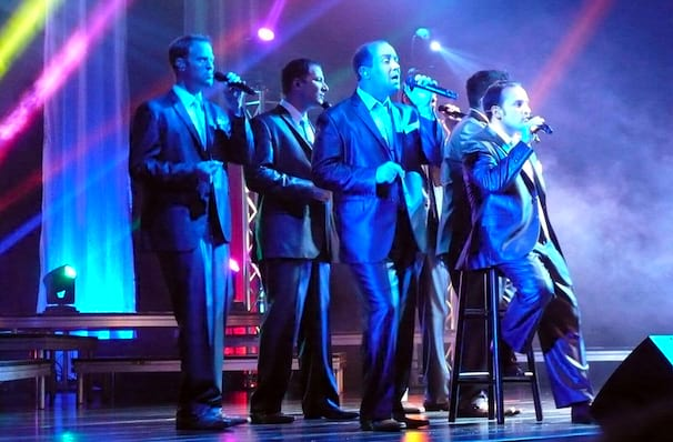 Straight No Chaser, Mohegan Sun Arena, Hartford