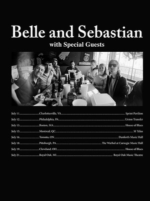 Belle And Sebastian at Tabernacle