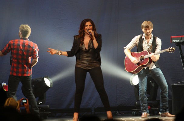 Lady Antebellum, DTE Energy Music Center, Detroit