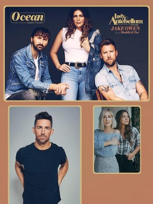Lady Antebellum, Cynthia Woods Mitchell Pavilion, Houston