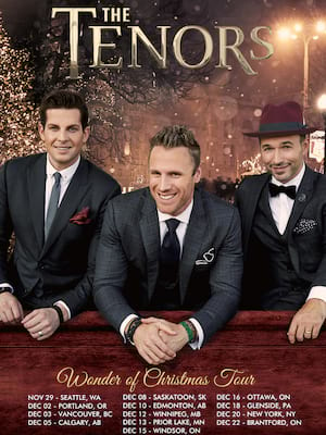 The Tenors at NAC Southam Hall