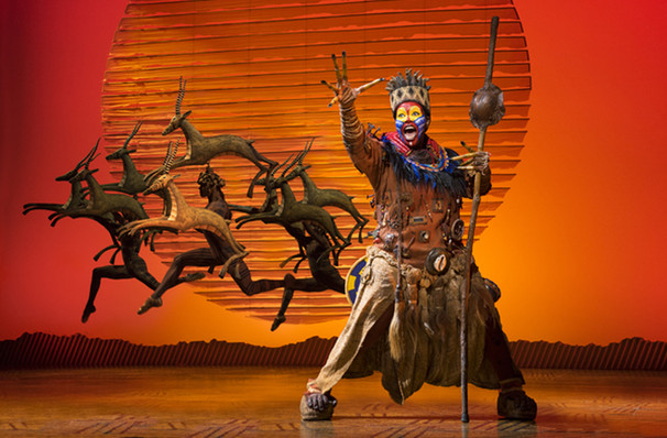 The Lion King, Citizens Bank Opera House, Boston