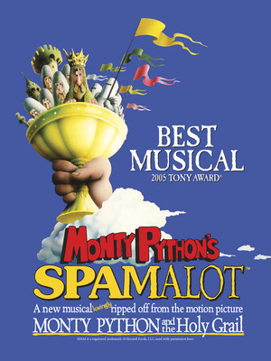 Monty Python's Spamalot at Lowell Memorial Auditorium
