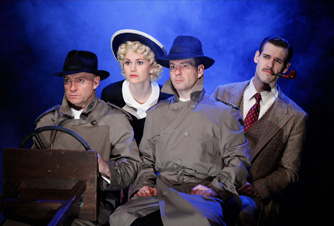The 39 steps drury lane theatre oakbrook terrace for Terrace theater movie times
