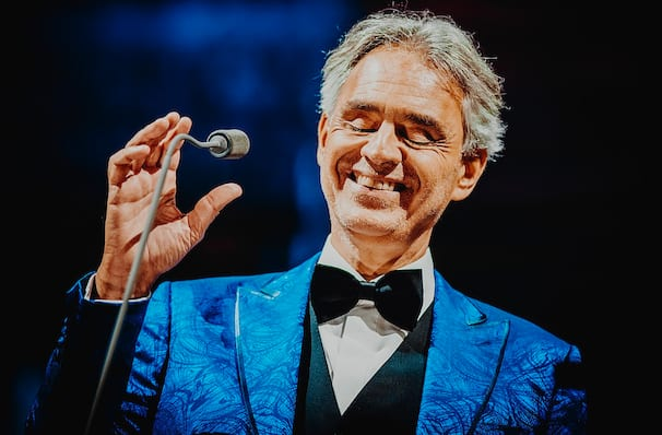 Dates announced for Andrea Bocelli