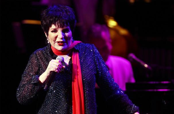 Liza Minnelli, Segerstrom Hall, Costa Mesa