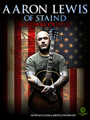 Aaron Lewis, Charleston Municipal Auditorium, Charleston