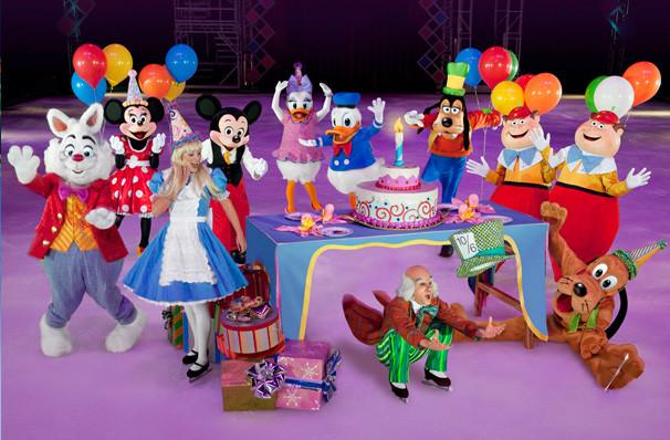 Disney On Ice Lets Celebrate, Royal Farms Arena, Baltimore