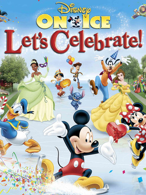 Disney On Ice: Let's Celebrate Poster