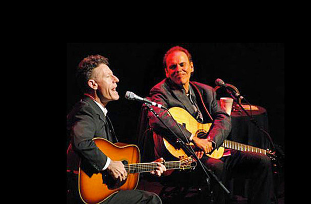 Lyle Lovett & John Hiatt's whistlestop visit to Winnipeg