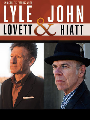 Lyle Lovett John Hiatt, Clowes Memorial Hall, Indianapolis