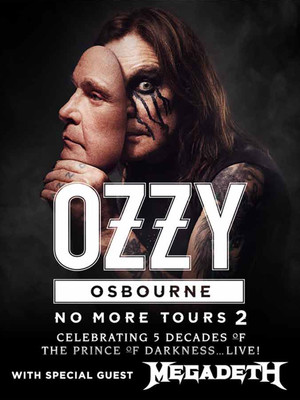 Ozzy Osbourne at Rogers Place