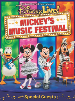 Disney Live! Mickey's Music Festival at Theater at Madison Square Garden