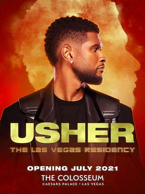Usher at The Colosseum at Caesars