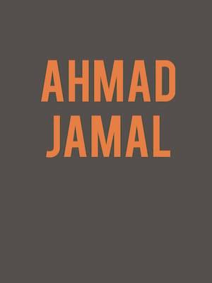 Ahmad Jamal Poster