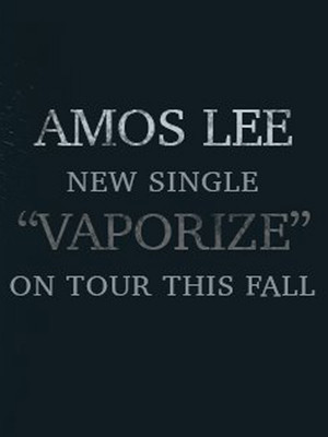 Amos Lee at Martin Wolsdon Theatre at the Fox