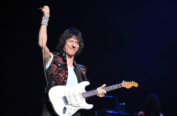 Dates announced for Jeff Beck