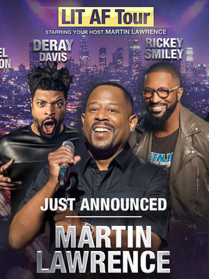 Martin Lawrence at American Airlines Arena