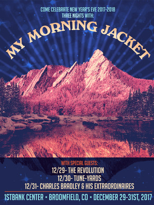 My Morning Jacket at Red Rocks Amphitheatre