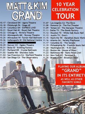 Matt and Kim at Riviera Theater