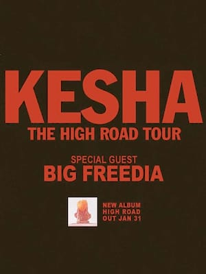 Kesha, Lakewood Civic Auditorium, Cleveland