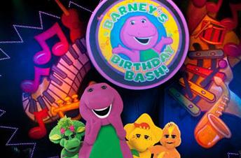 Barney Live In Concert Birthday Bash Fox Theatre Detroit MI - Barney live in concert birthday