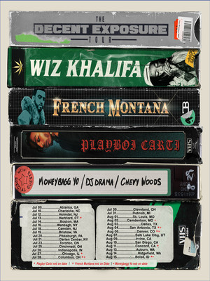 Wiz Khalifa, White River Amphitheatre, Seattle
