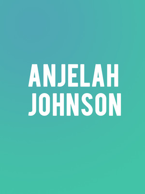 Anjelah Johnson at Hoyt Sherman Auditorium