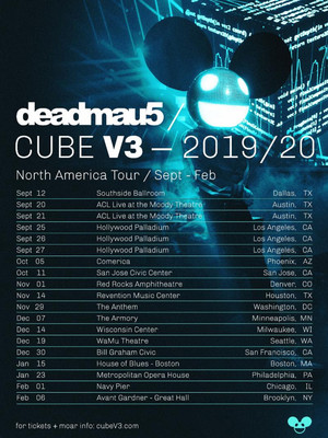 Deadmau5, WaMu Theater, Seattle