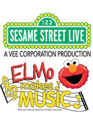 Sesame Street Live Elmo Makes Music, XFinity Arena at Everett, Seattle