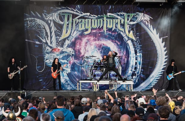 Dragonforce, Agora Theater, Cleveland