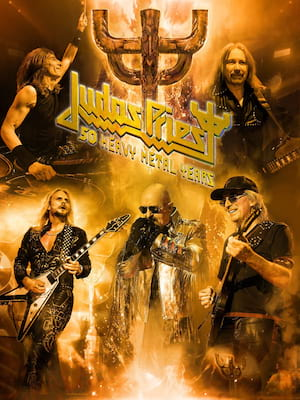 Judas Priest at Nashville Municipal Auditorium